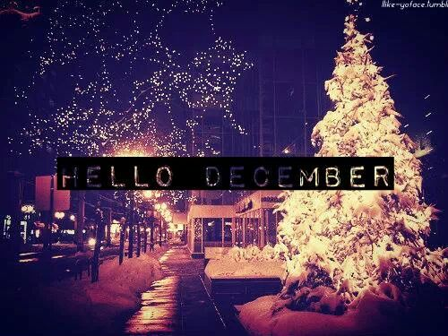 christmas, december, happiness and lights