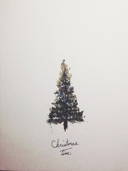 Tumblr image 1563356 by aaron s on for Cute christmas tree drawing