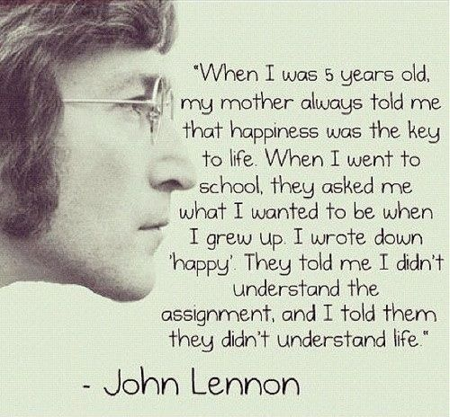 john lennon from the beatles this is beautiful image