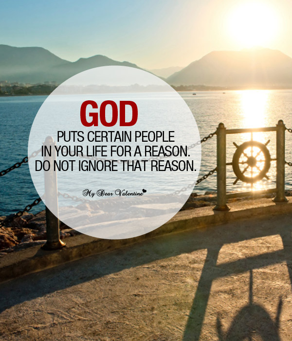 god puts certain people life picture quote image