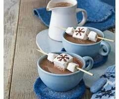 love, marshmallows, hot chocolate, winter, christmas