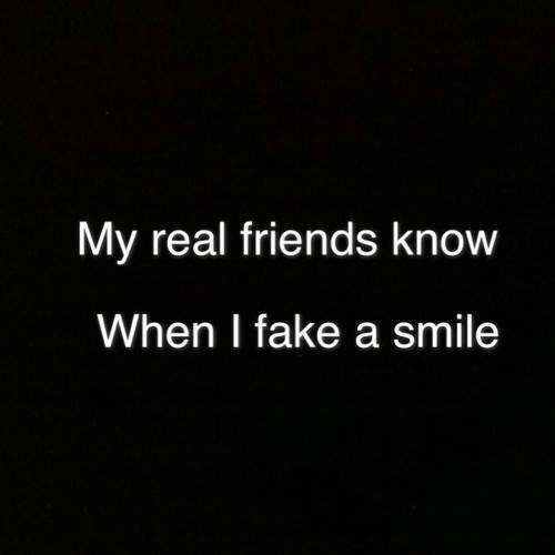 best friend, english quotes, fake smile and friendship