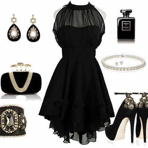 black clothes, little black dress, party outfit, sexy outfit, black party dress, badass clothes