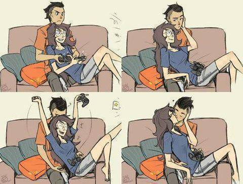 So cute image 1655838 by aaron s on - Anime gamer boy ...