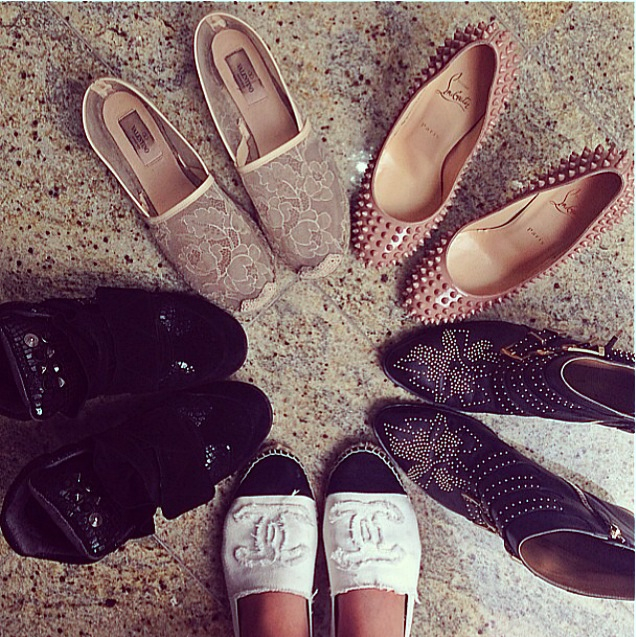 bege, black, chanel and chloe