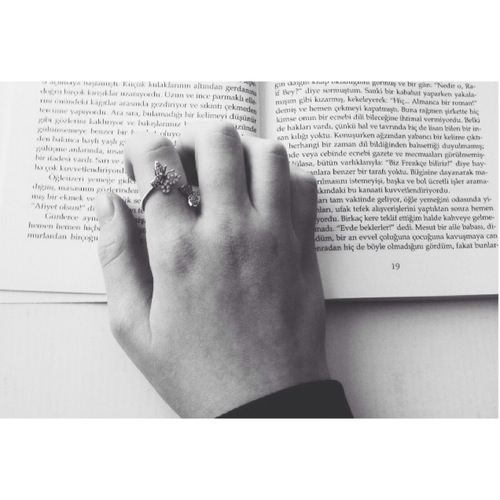 black and white, book, girl and grunge