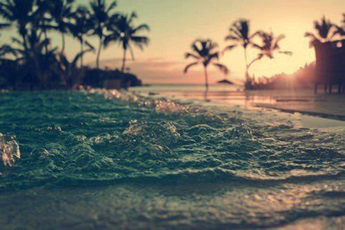 beach, love, sea, water, waves, sand