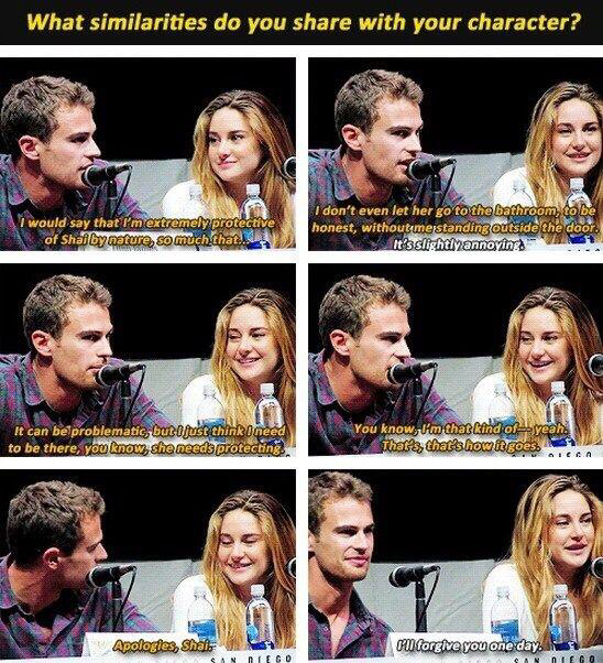 aw, british guys, divergent and fourtris