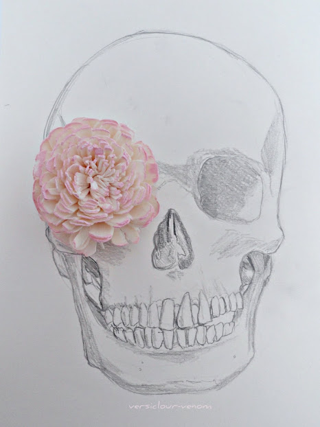 art, draw, flower and inspire