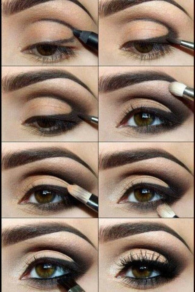 pretty, mascara, cool and eyeliner