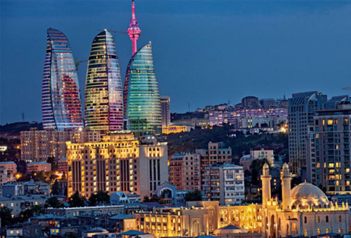 azerbaijan, baku and city
