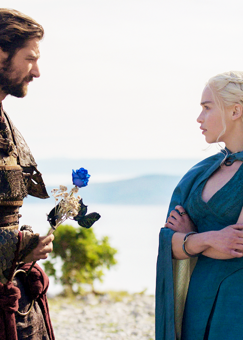 Game of Thrones Daily | via Tumblr - image #1858948 by ... Daario Naharis Daenerys