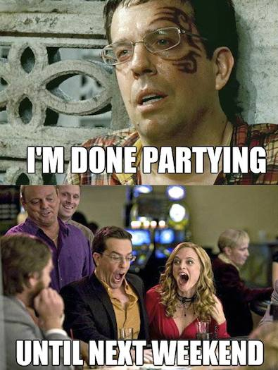 Hangover Movie Meme Funny : Funny memes i m done partying image