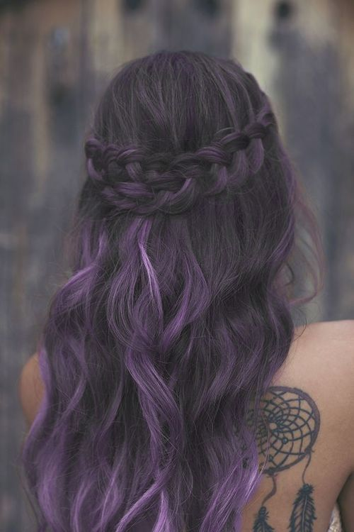 Cute Colorful Hairstyles Tumblr