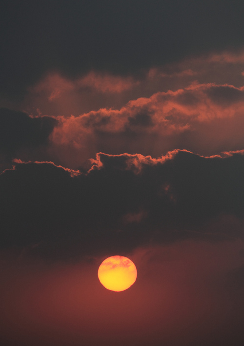 amazing, clouds, love, nature, photography, red moon, sky, sun