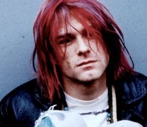 kurt cobain, nirvana, red hair