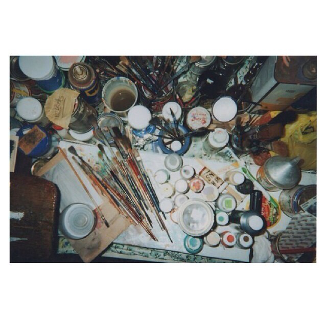 art, brushes, crafty and creating