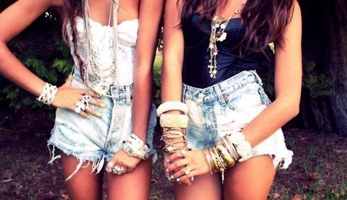 friends, summer, girly, happiness, memories, shorts