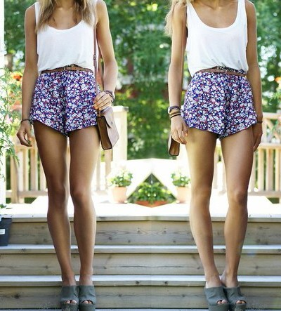 outfit, fashion, top, cute, perfect, blue, flowers, atyle