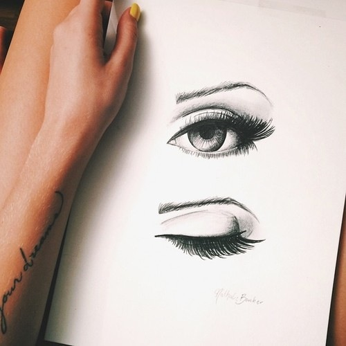 Draw image 1938198 by patrisha on for Beautiful drawings tumblr