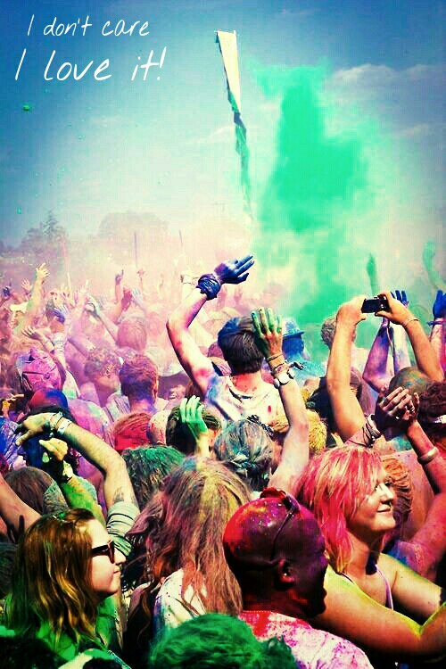 colours, love, party and summer