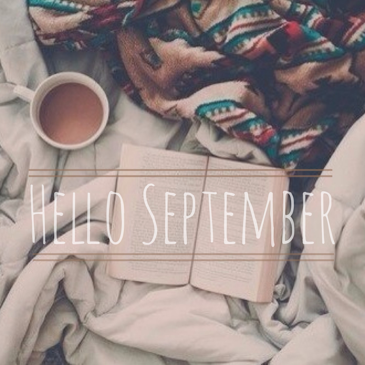 autumn, books, hello september, love, read a book, tea, goodbye summer