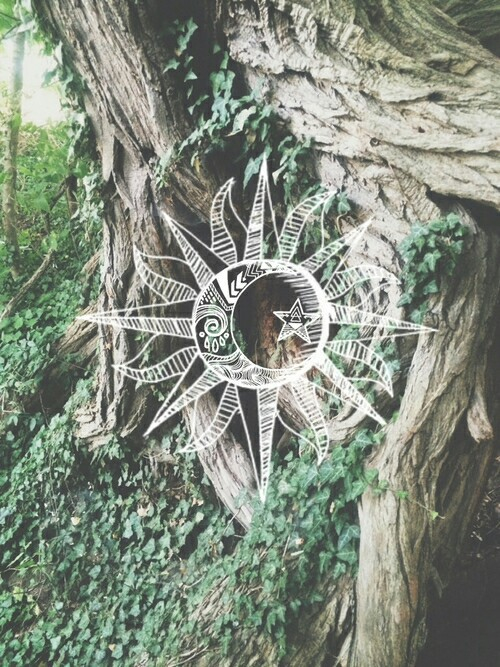 green, tumblr, hipster, heartit, tree, sun, peace, weheartit, fade