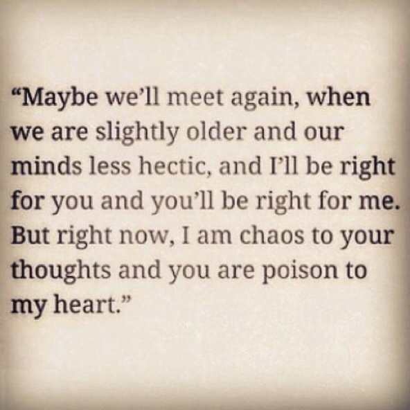 Deep Teenage Love Quotes : ... day, quotes, sad, someday, stay, teen, teen love, timing, deep quotes