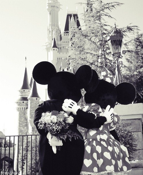 disney, mickey, minnie and mouse