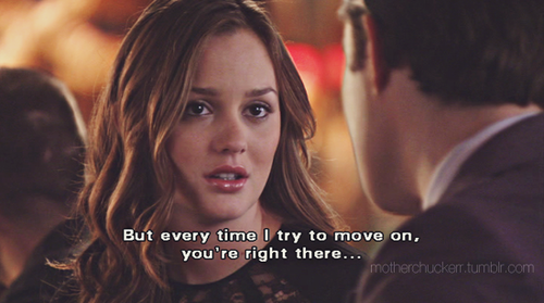 Right! Chuck and blair gossip girl quote