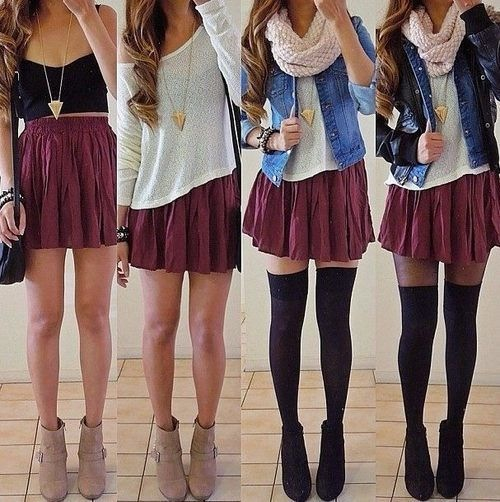 Cute Clothing Styles For School Cute school outfits