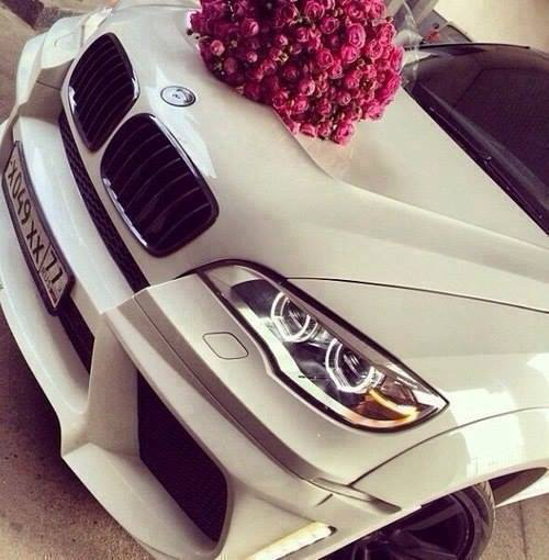 bmw, cars, cute and girl