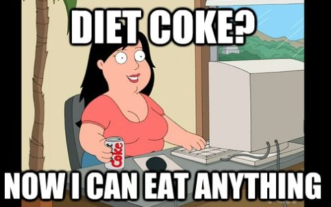 coca, coke, diet coke, food, funny, griffin, love
