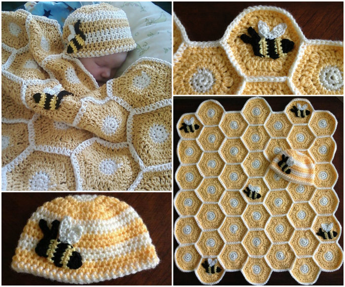 Red Heart Henry and Honey Bumblebee | Yarnspirations | 583x700