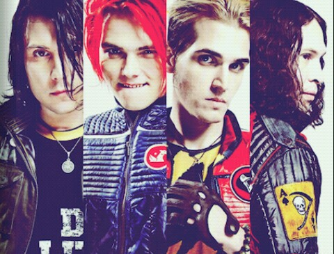 bands, danger days, frank iero and fun ghoul