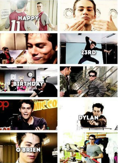 dylan o'brien, happy birthday, love and so happy