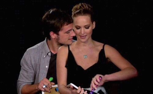 jennifer dating josh Jennifer lawrence has had the supreme pleasure of getting to kiss hotties josh hutcherson and liam hemsworth while filming the hunger games series we all know who katniss prefers kissing in thg series (since spoiler alert katniss and peeta end up together), but who does jlaw think is a better .