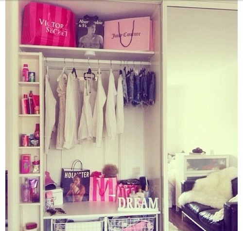 Closet Decoration Dream Pink Room Vs Image 2141366 By