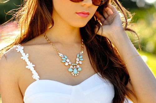 fashion, jewelry, necklace and pretty