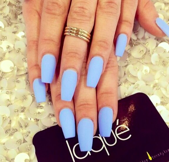 beautiful, blue, laque, nails, ring