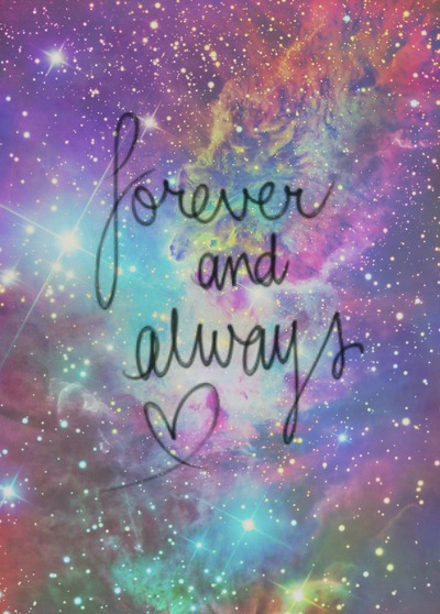 always, forever, galaxy, tumblr - image #2165008 by ...
