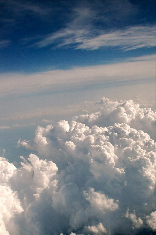 blue, cloud, clouds and fly