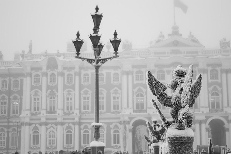 architecture, places, russia and snow