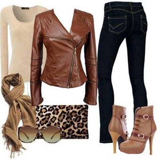 Awesome Fashion Fall Outfit Fall Outfit With Combat Boots Created By