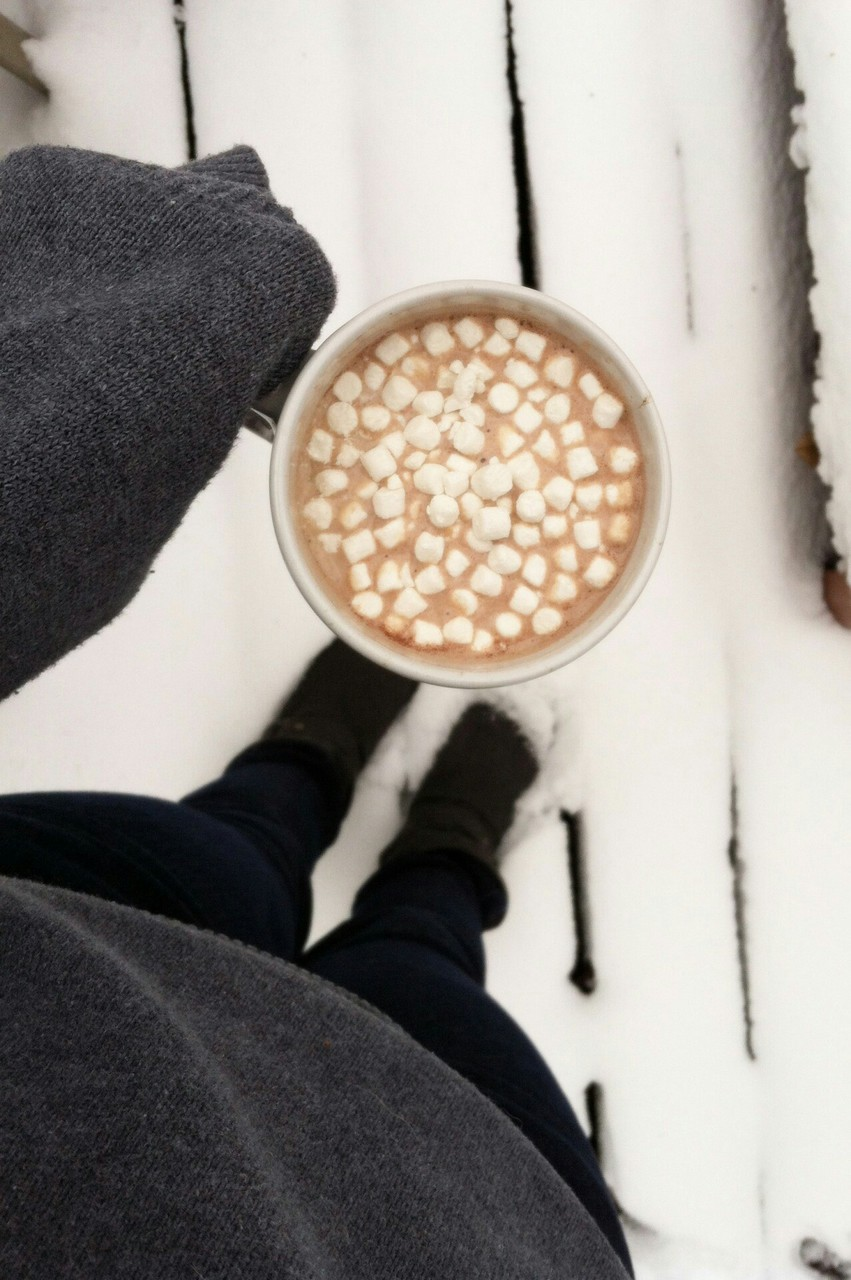 hot chocolate, hot cocoa, hot drinks and winter