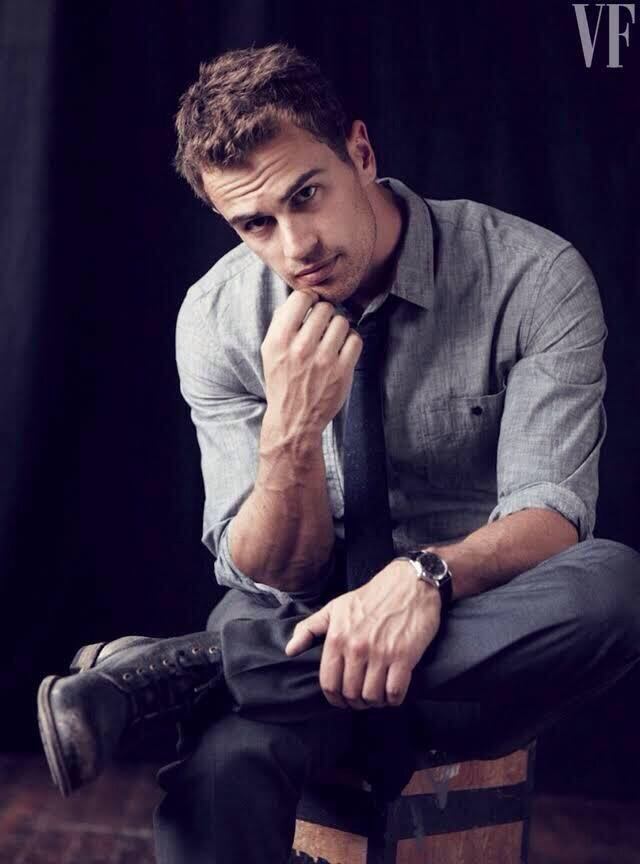 actor, beautiful, boy, british, class, four, magazine, sexy, shirt, tie, tobias eaton, vanity fair, watch, divergente, theo james