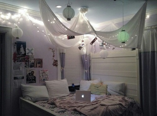 comfy cozy girl laptop lazy lights love tumblr tumblr bedroom