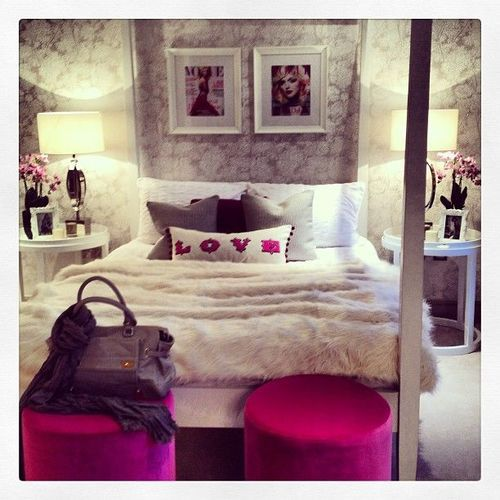 Untitled image 2217146 by miss dior on for Fashionista bedroom ideas