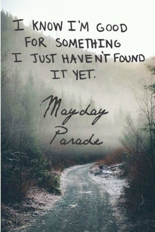 Mayday Parade Quotes   Pictures Of Mayday Parade Quotes Rock Cafe
