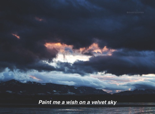 clouds dark grunge hipster indie quote sad sky tumblr